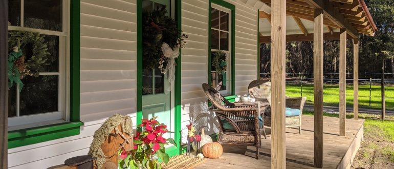 SIMMONS HOUSE HAPPY NEW UYEAR DAUFUSKIE ISLAND MARSH TACKY SOCIETY